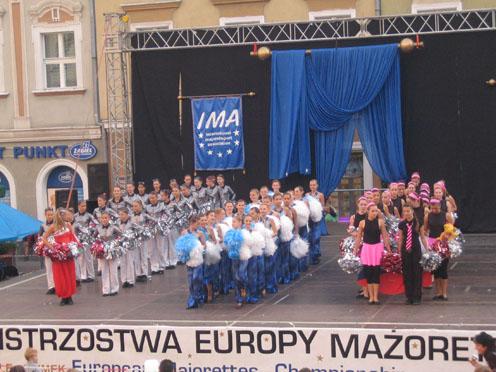 Чемпионат Европы мажореток